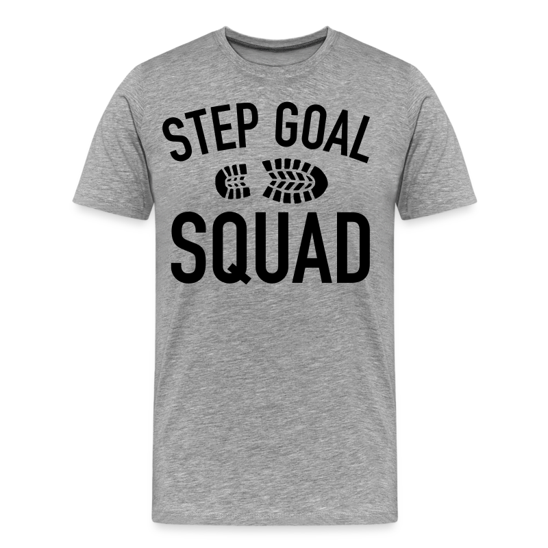 Step Goal Squad #3 Design - Women's Plus Sized, Mens Plus Sized, SM - 5XL - Men's Premium T-Shirt