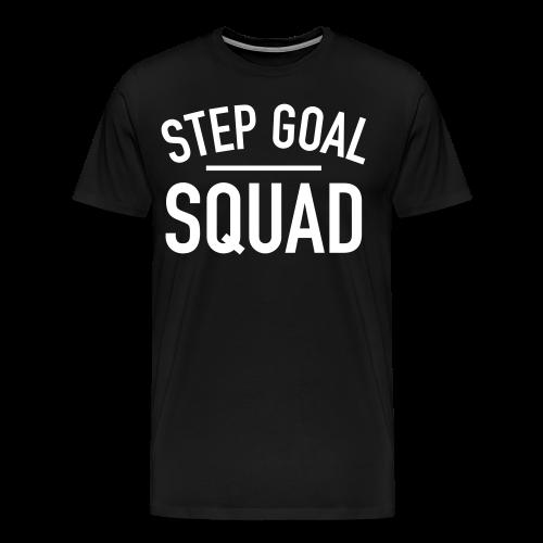 Step Goal Squad #4 Design - Men's Plus Sized, SM - 5XL - Men's Premium T-Shirt