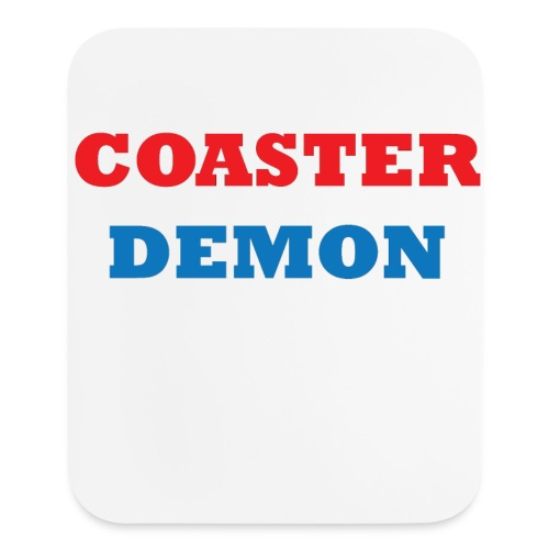 Coaster Demon Mouse Pad - Mouse pad Vertical