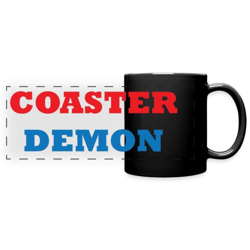 Coaster Demon Mug with Large Logo - Full Color Panoramic Mug