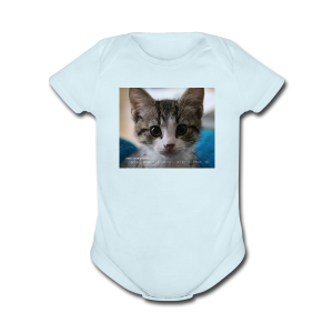 Embassy Cat Tee - Short Sleeve Baby Bodysuit