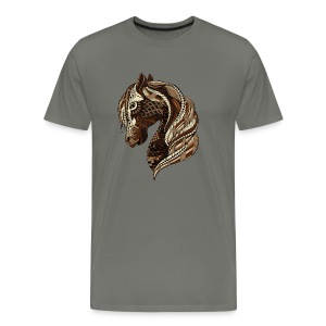 Wild Horse Tshirt for men from South Seas Tees - Men's Premium T-Shirt