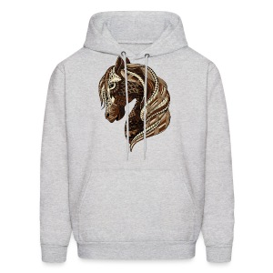 Wild Horse Men's Hoodie from South Seas Tees - Men's Hoodie