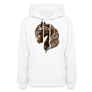 Wild Horse Women's Hoodie from South Seas Tees - Women's Hoodie