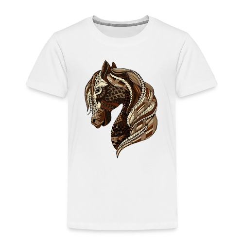 Wild Horse T Shirt for toddler from South Seas Tees - Toddler Premium T-Shirt