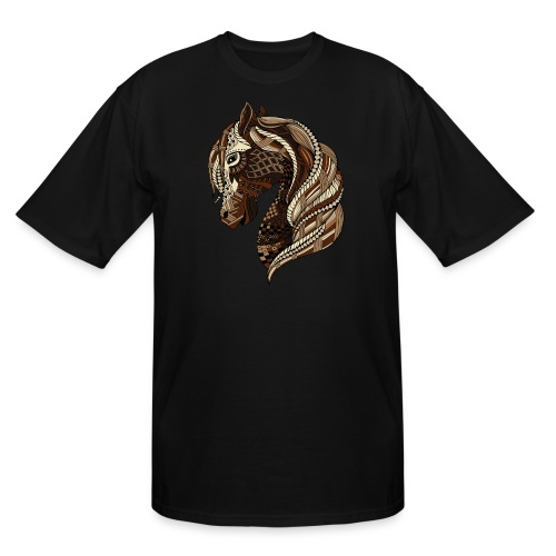 Wild Horse Big and Tall Men´s T-Shirt from South Seas Tees - Men's Tall T-Shirt