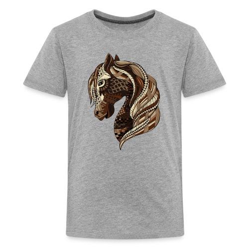 Wild Horse T Shirt for kids from South Seas Tees - Kids' Premium T-Shirt
