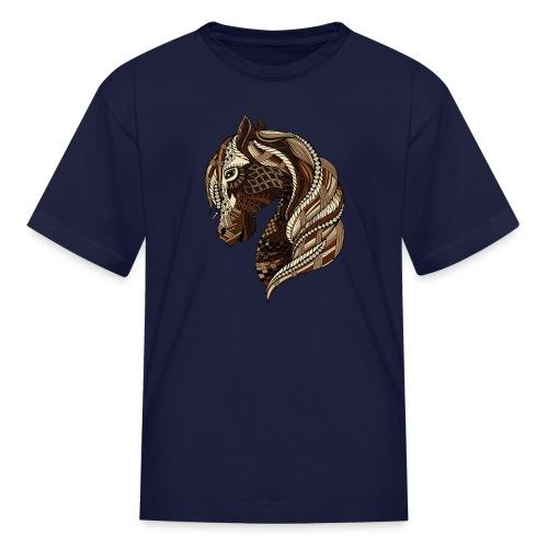 Wild Horse Kid's T-Shirt from South Seas Tees - Kids' T-Shirt