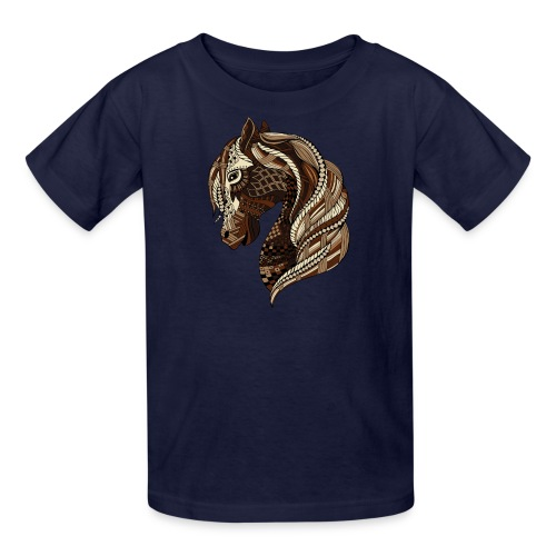 Wild Horse Kid's T-Shirt from South Seas Tees - Kids' T-Shirt