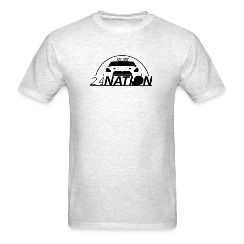24 Nation Logo - Men's T-Shirt