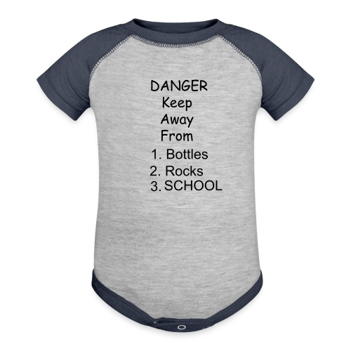 Keep Away - Contrast Baby Bodysuit