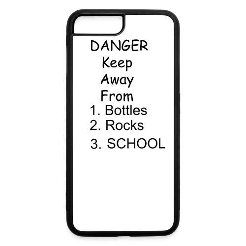 Danger - iPhone 7 Plus/8 Plus Rubber Case