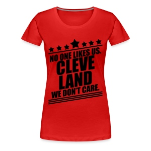 WE DON'T CARE - Women's Premium T-Shirt