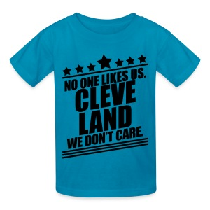 WE DON'T CARE KIDS - Kids' T-Shirt