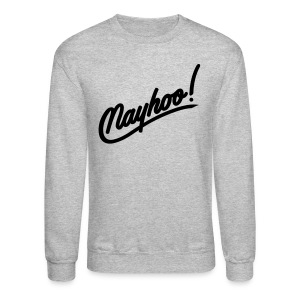 Men's Black Nayhoo Crewneck - Crewneck Sweatshirt