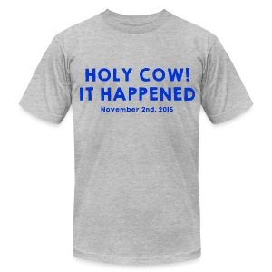 Holy Cow It Happened - Men's T-Shirt by American Apparel
