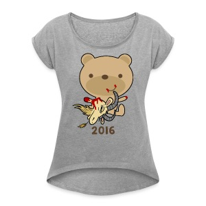 Goat Killer 2016 - Women's Roll Cuff T-Shirt