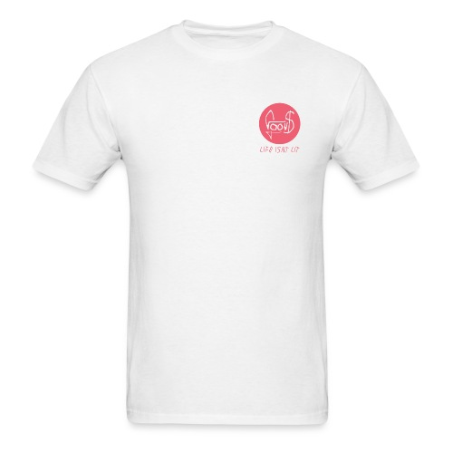 Lit Circle - Men's T-Shirt