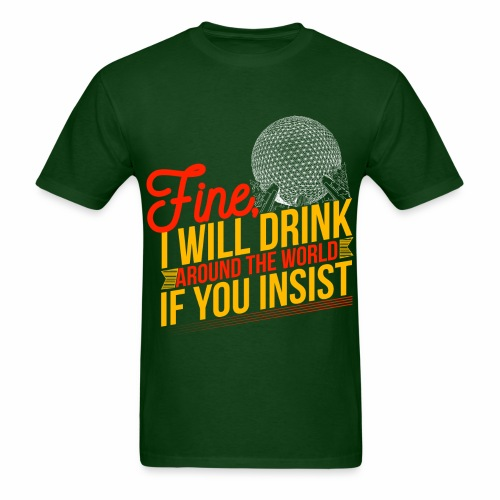 Drinking Around the World Men - Men's T-Shirt