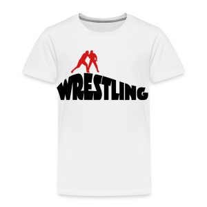 wrestling - Toddler Premium T-Shirt