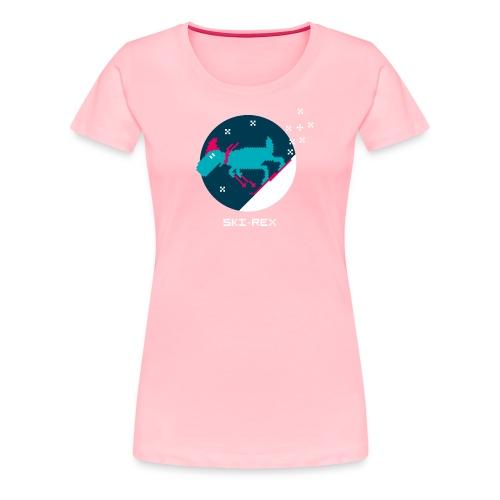 Ski Rex - Women's Premium T-Shirt