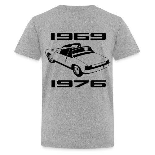 Kid printed on the back - Kids' Premium T-Shirt