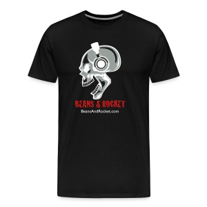 Beans & Rocket Skull - Men's Premium T-Shirt