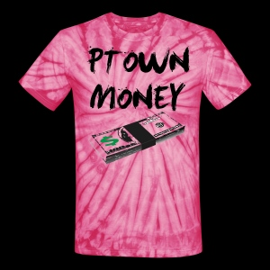 Ptown Money - Stacking Tie Dye [3 Colors] - Unisex Tie Dye T-Shirt