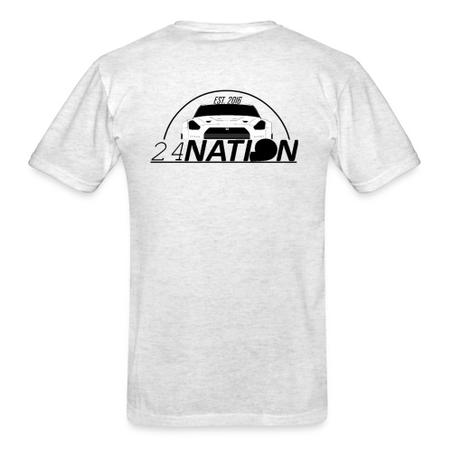 24 Nation logo back - Men's T-Shirt