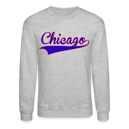 Chicago Baseball Jersey Sweatshirt - Crewneck Sweatshirt