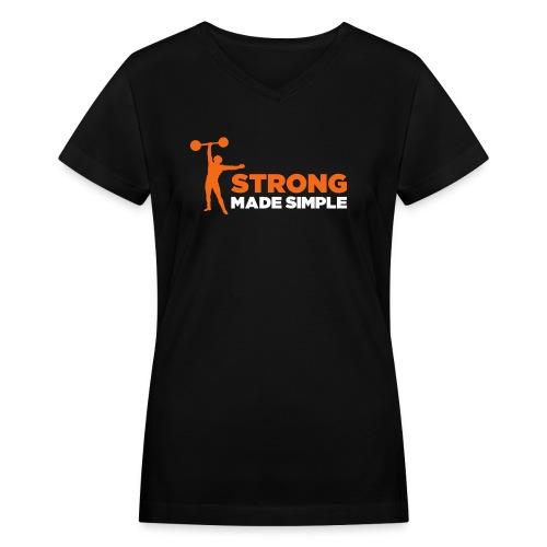 SMS Women's V Neck - Women's V-Neck T-Shirt