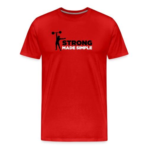 SMS Men's Crew Neck Tee - Men's Premium T-Shirt