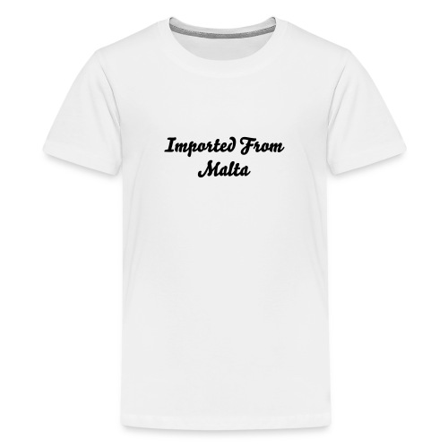 imported from Malta - Kids' Premium T-Shirt