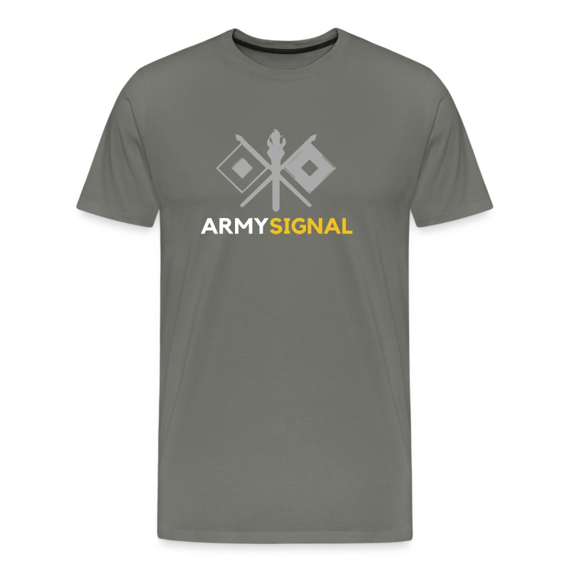 Army: Signal Corps Branch - Men's Premium T-Shirt