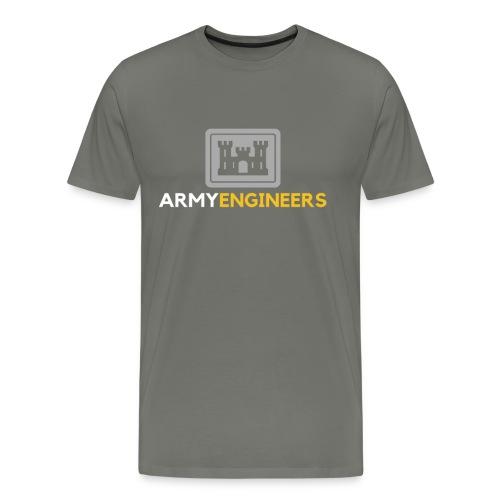 Army: Engineer Branch - Men's Premium T-Shirt