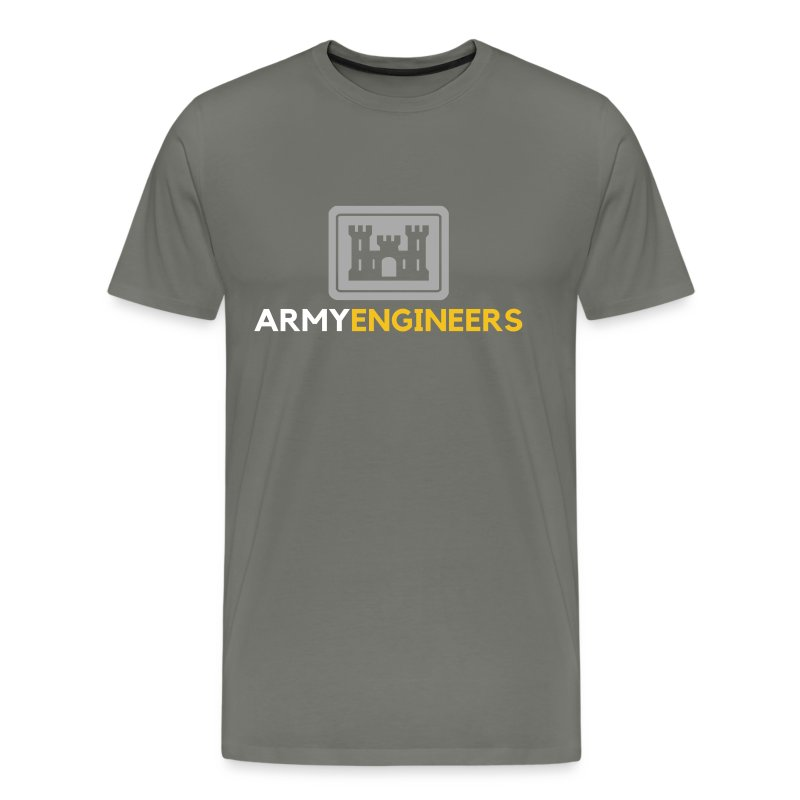 Army: Engineer Branch - Men's Premium T-Shirt