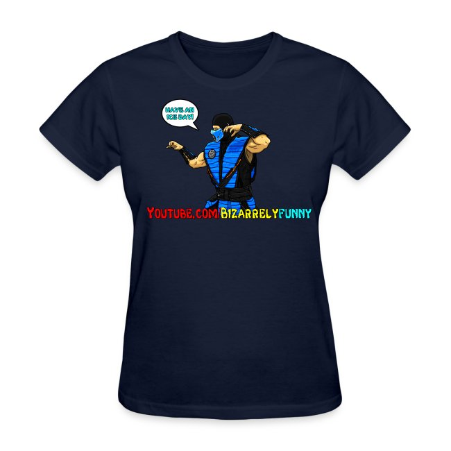 Sub-Zero BF Comic Shirt Female