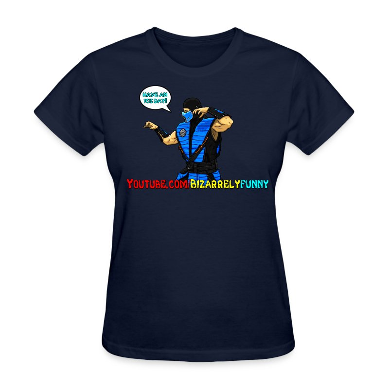 Sub-Zero BF Comic Shirt Female - Women's T-Shirt