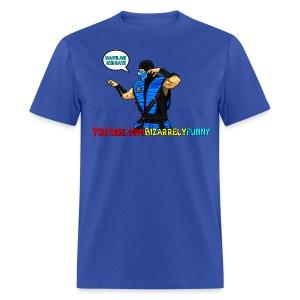 Sub-Zero BF Comic Shirt 2 - Men's T-Shirt