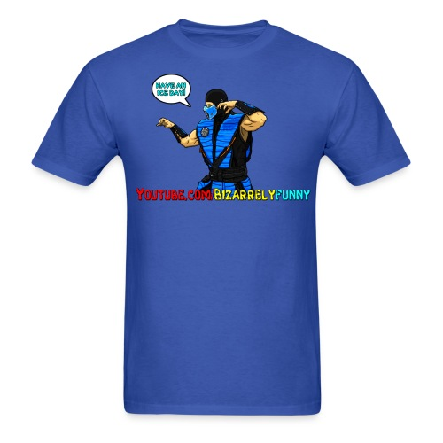Sub-Zero BF Comic Shirt 2 - Men's T-Shirt