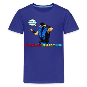 Sub-Zero BF Comic Shirt - Kids' Premium T-Shirt