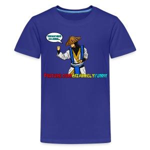 Raiden BF Comic Shirt - Kids' Premium T-Shirt