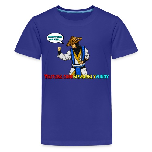 Raiden BF Comic Shirt - Kids' Premium T-Shirt
