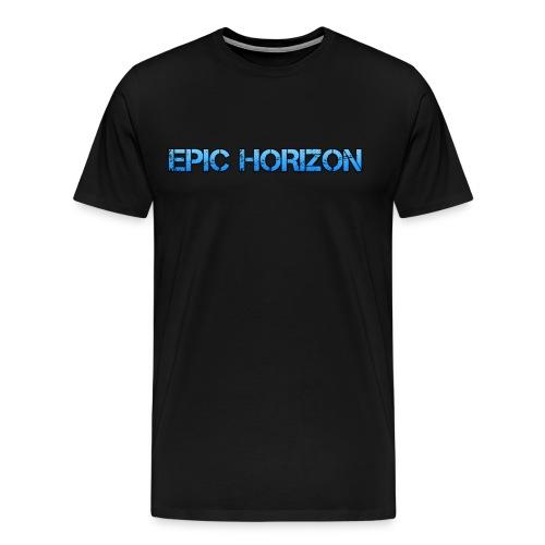 Epic HoRiZoN Blue Logo - Men's Premium T-Shirt