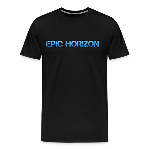 Epic HoRiZoN Blue Logo - Men's Premium T-Shirt