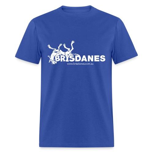 Brisdanes Official Men's T with Customisable Back Print - Men's T-Shirt