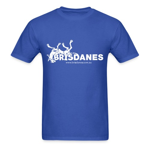 Brisdanes Official Men's T with Customisable Back Print - Men's T-Shirt
