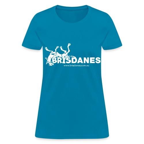 Brisdanes Official Women's T with Customisable Back Print - Women's T-Shirt