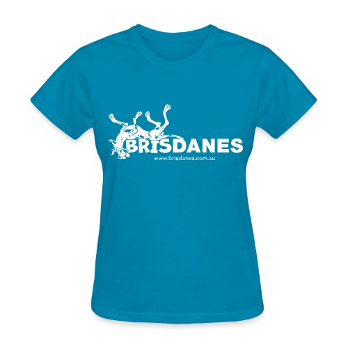 Brisdanes Official Women's T with Customisable Back Print - Women's T-Shirt