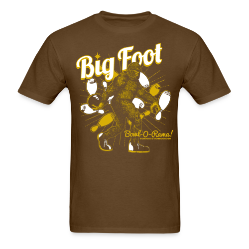 Big Foot Bowl-O-Rama Men's T-Shirt - Men's T-Shirt